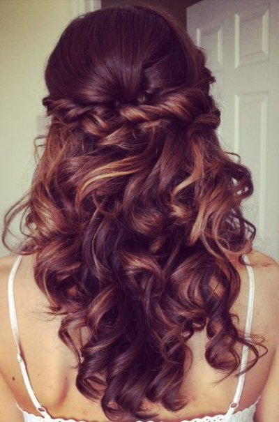 twisted-half-updo